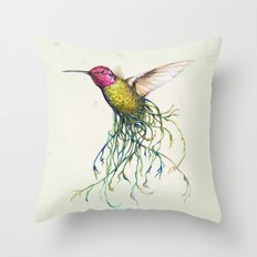 'Roots' Throw Pillow