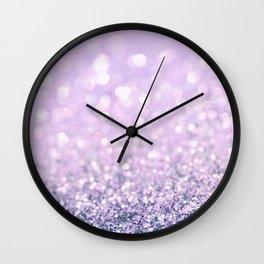 Blush Violet Wall Clock