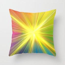 A new star Throw Pillow