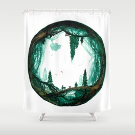 Fathers World Shower Curtain