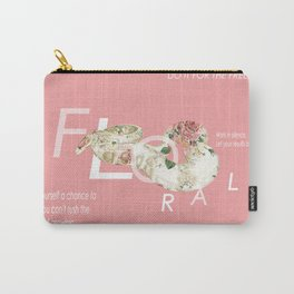 Floral snake Carry-All Pouch
