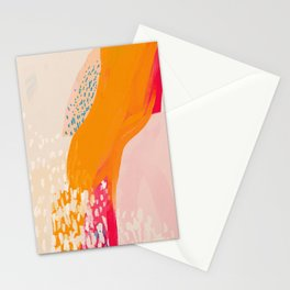 The Abstract Shape Of Spring Stationery Cards