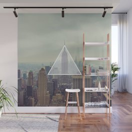 New York Triangle Wall Mural