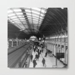 Paddington Station Metal Print