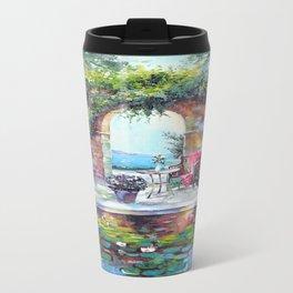 Cozy courtyard Travel Mug