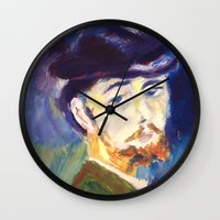monet Wall Clocks featuring Monet by AnthonyG