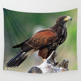 Hawk Eyes Wall Tapestry