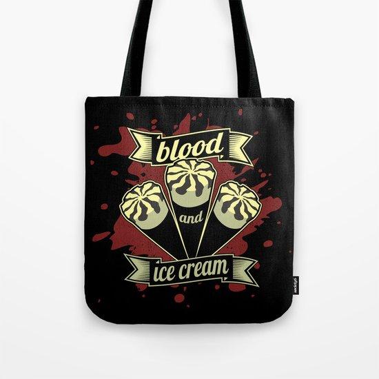 Blood & Ice Cream - Variant Tote Bag