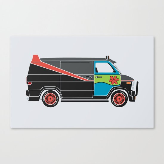 The Mess Up At The Body Shop Canvas Print