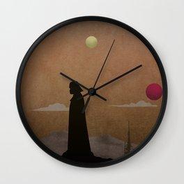 Vader in Tatooine Wall Clock