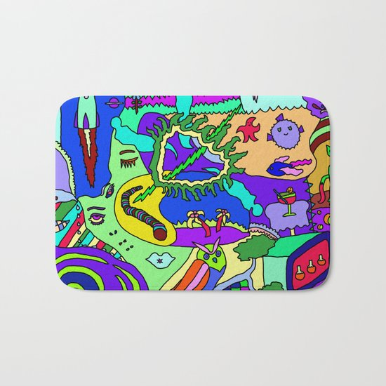 Abstract 20 Bath Mat