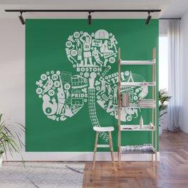 Dynasty-Green Wall Mural