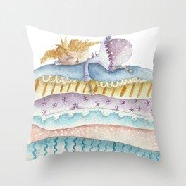 Princess on the Pea Throw Pillow