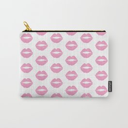 Light Pink Lips Carry-All Pouch