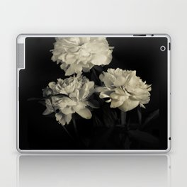 White peonies2 Laptop & iPad Skin