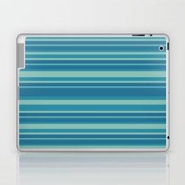 Blue Stripes Laptop & iPad Skin