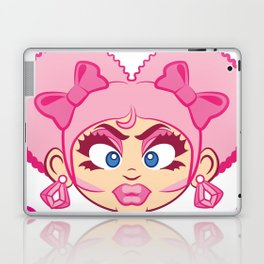 Dominique and Bubbles! Laptop & iPad Skin