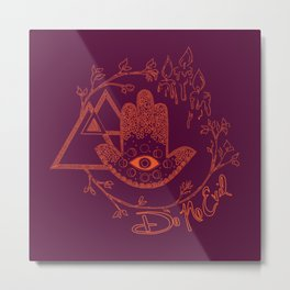 Do No Evil 2 Metal Print