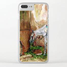 Sultry day Clear iPhone Case