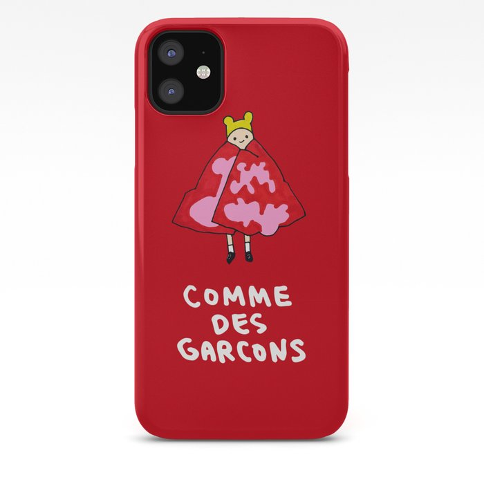 Comme Des Garcons Iphone Case By Dainsuh