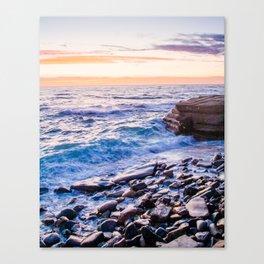 Rocky Coastline at La Jolla Shores Fine Art Print Canvas Print