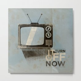 Tv ... Metal Print