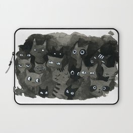 Cats in the Dark Laptop Sleeve