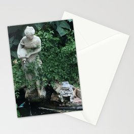 WATER GIRL & TOAD Stationery Cards