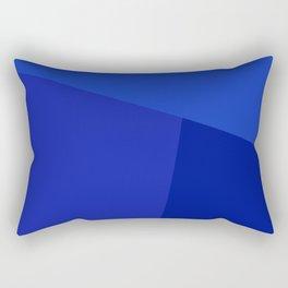 dégradé trapèze bleu ciel Rectangular Pillow