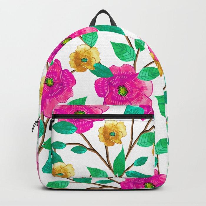 Floral Forever #society6 #decor #buyart Backpack