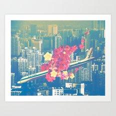 Las Ultimas Flores Art Print
