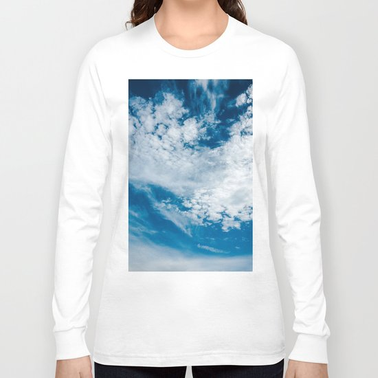 Flowers in the air Long Sleeve T-shirt