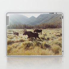 Three Meadow Moose Laptop & iPad Skin