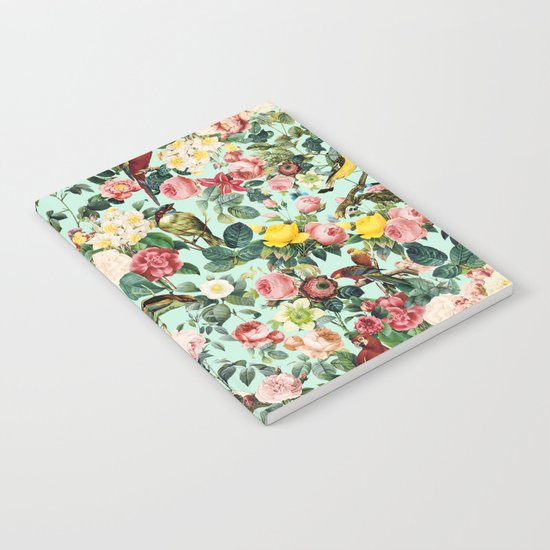 Floral and Birds III Notebook