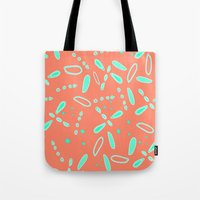 fireflies Tote Bags featuring Fireflies   by TyeJiles