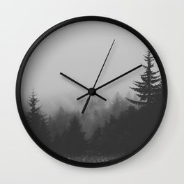 View Over Wall Clock