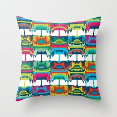Chicken Bus - 1 Throw Pillow