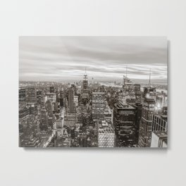 Infinite - New York City Metal Print