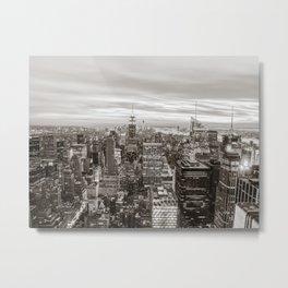 Infinite - New York City Metal Print