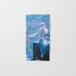 12,000pixel-500dpi - Edward Robert Hughes - The Valkyrie's Vigil - Digital Remastered Edition Hand & Bath Towel