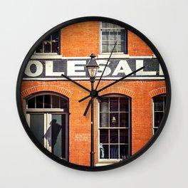 Historical Richmond Wall Clock