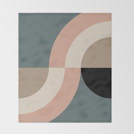 Contemporary Composition 33 Throw Blanket