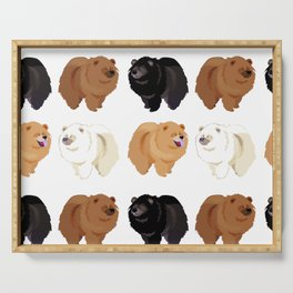 Chow Chow Serving Tray