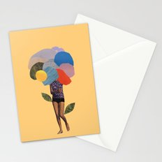 i dream of you amid the flowers Stationery Cards