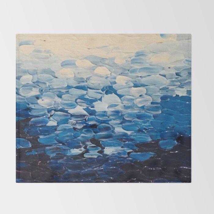 Blue Seas Throw Blanket