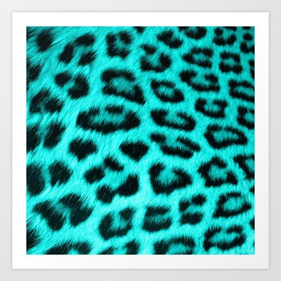 Wild Blue Art Print
