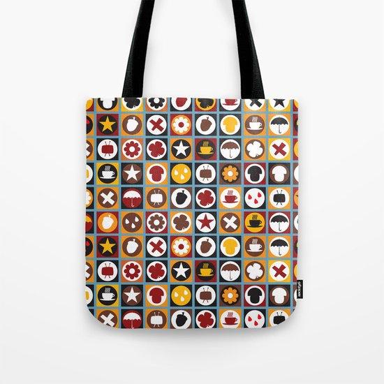 Retro autumn pattern No.321457 Tote Bag
