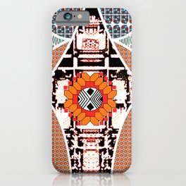 Africa Floral iPhone Case