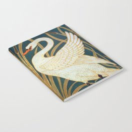 Walter Crane Swan, Rush And Iris Notebook