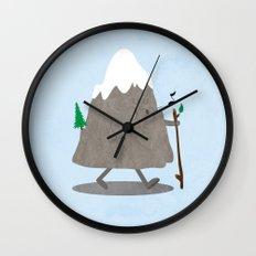 Lil' Hiker Wall Clock